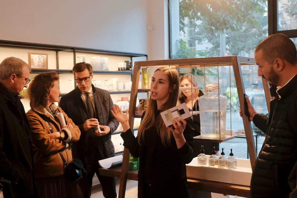 Circular Economy retail Inspiration tour in Antwerp for Yves Rocher